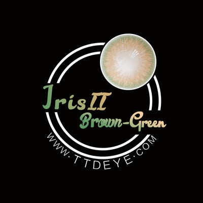 TTDeye Iris Brown-Green II Colored Contact Lenses