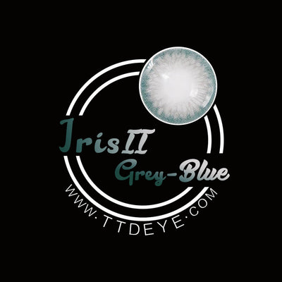 TTDeye Iris Grey-Blue II Colored Contact Lenses