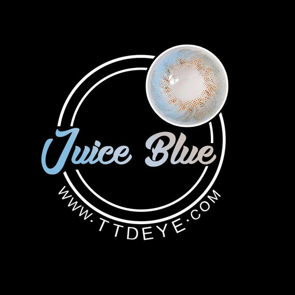 TTDeye Juice Blue Colored Contact Lenses-2
