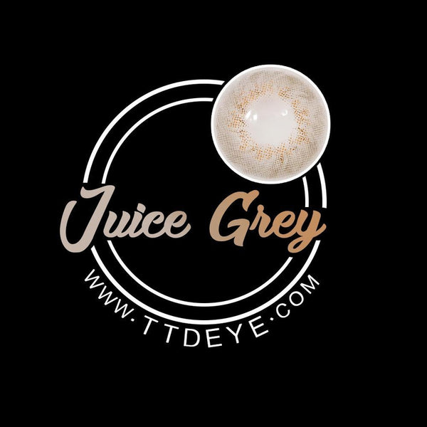 TTDeye Juice Grey Colored Contact Lenses
