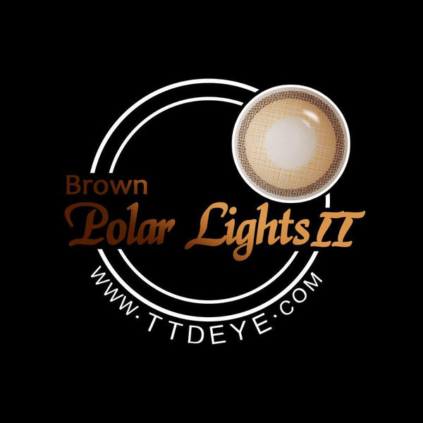 TTDeye Polar Lights Brown II Colored Contact Lenses