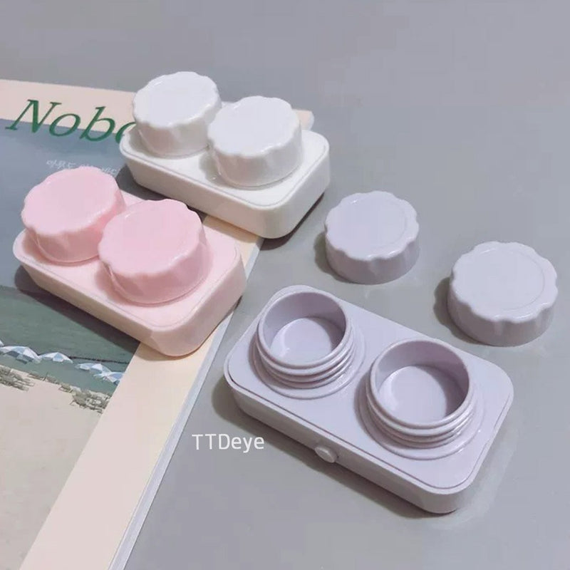 TTDeye Pure Color Contact Lenses Auto-washer