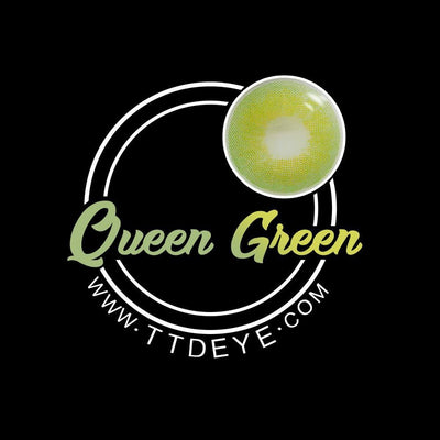 TTDeye Queen Green Colored Contact Lenses