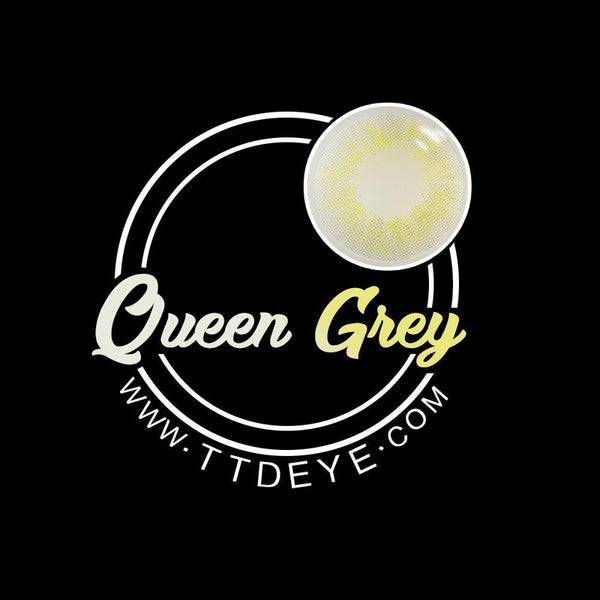 TTDeye Queen Grey Colored Contact Lenses