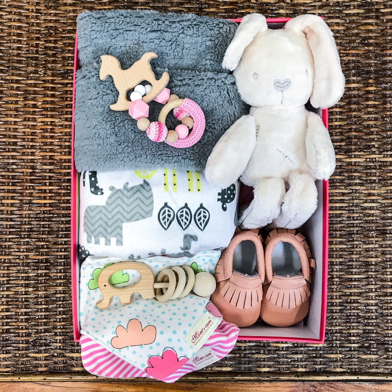 LARGE BABY SHOWER GIFT PACK - PINK