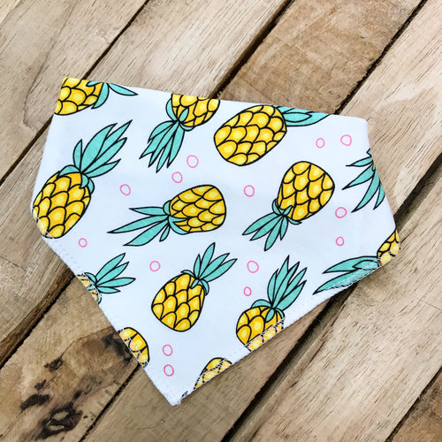 Pineapple Baby Dribble Bib