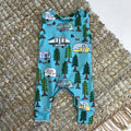 SUMMER CAMP BABY ROMPER
