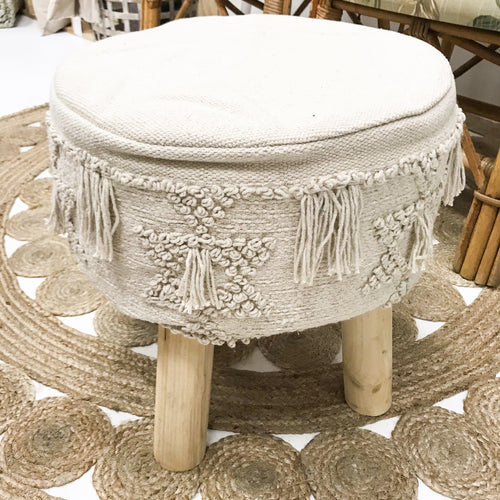 Boho Occasional Foot Stool - Jasper