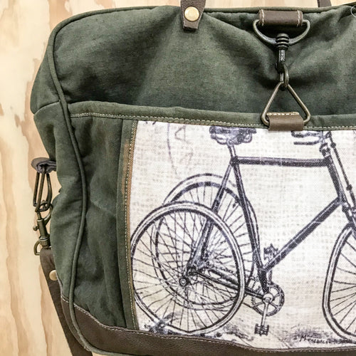 Bike Satchel Man Bag