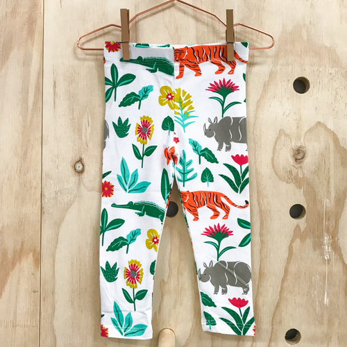 Tiger in the Garden Kids Leggings