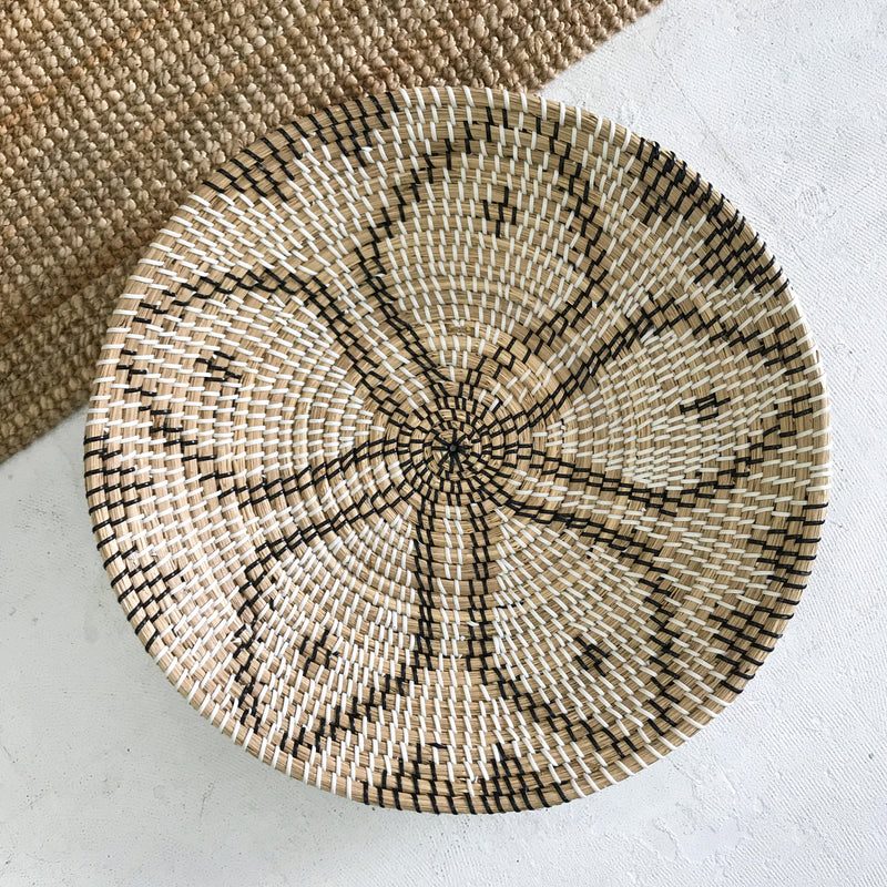 Star Pattern Hand Woven Bowl