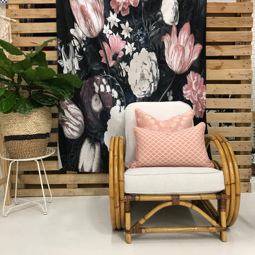 Printed Fabric Tapestry - Botanical