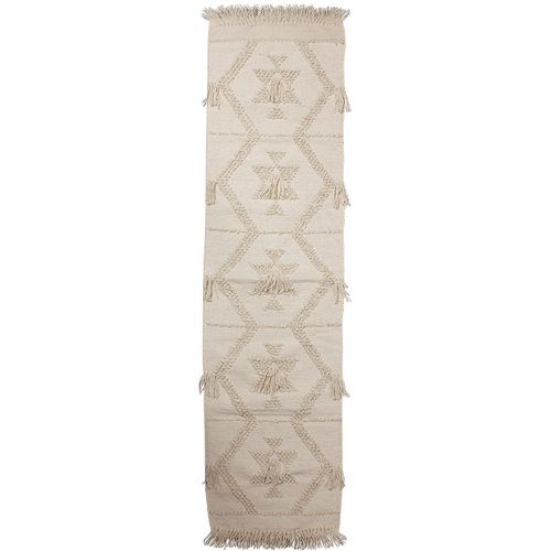 Boho Woven Cotton Table Runner