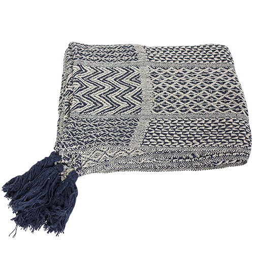 THE COVE KNITTED THROW - KING/QUEEN