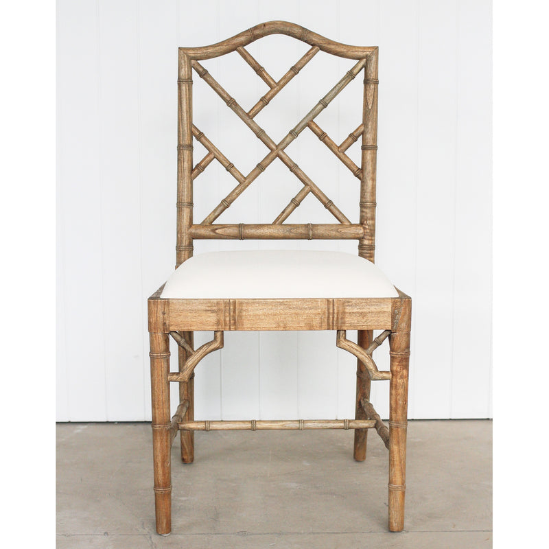 Chippendale Dining Chair - Weathered Oak