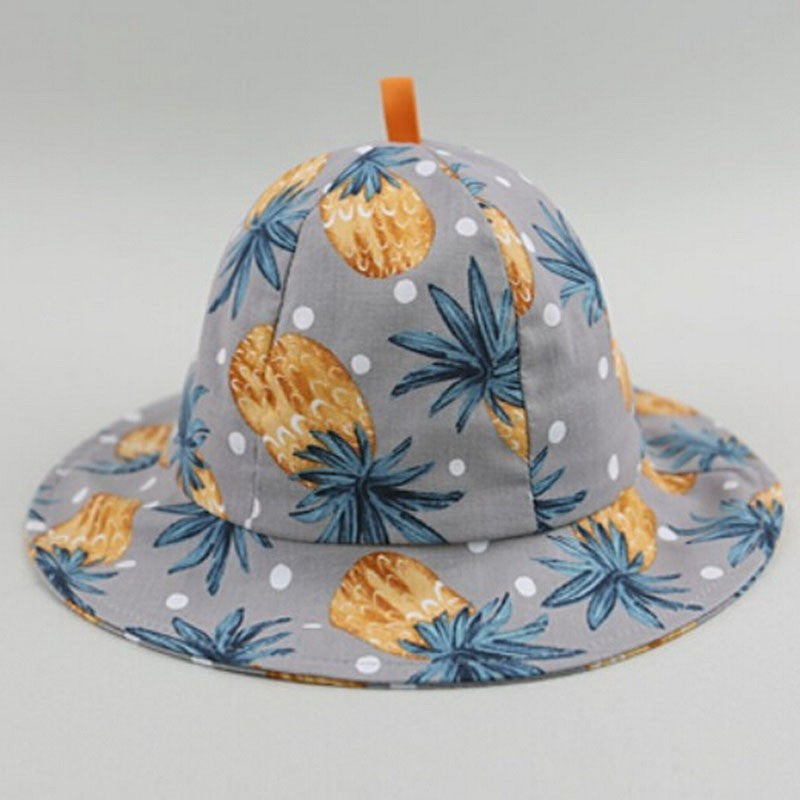 Blue Pineapple Baby Bucket Hat