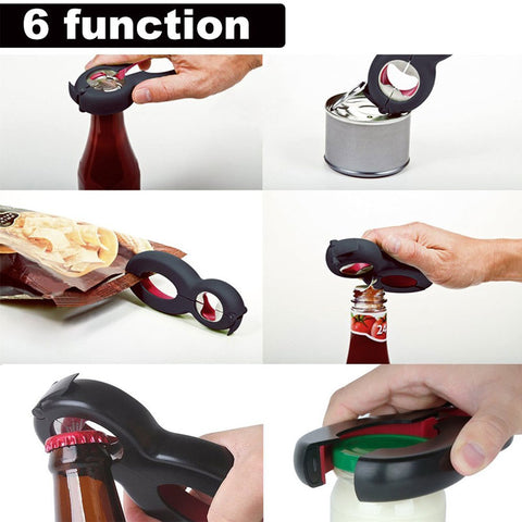 All in One Multi Function Bottle Opener