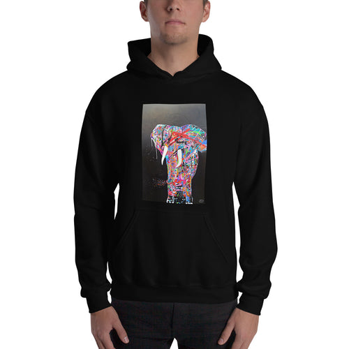 """Ivory"" Hooded Sweatshirt"