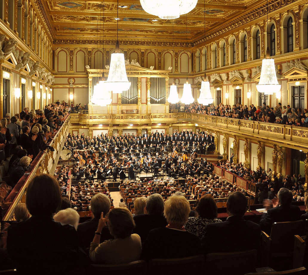 Concert at Musikverein