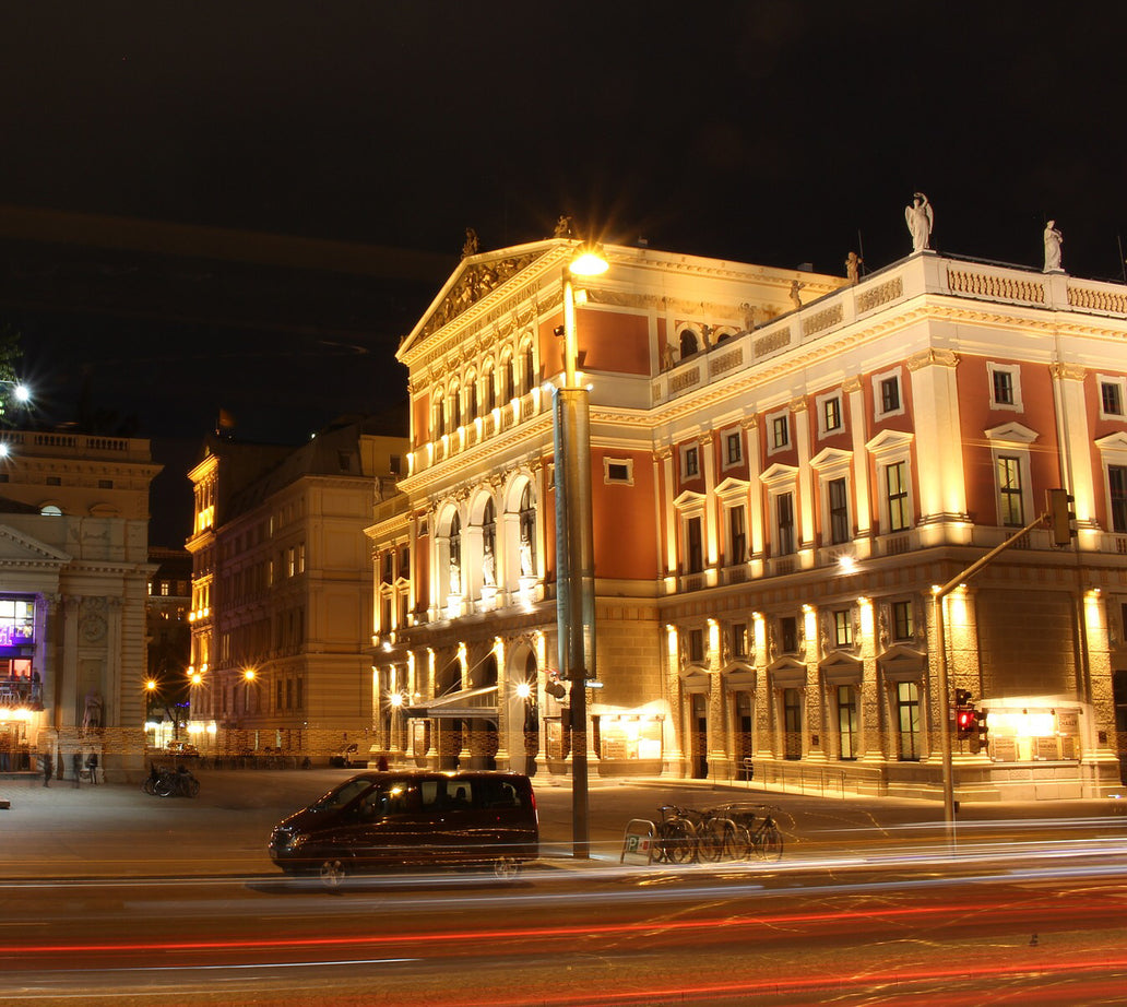 Musikverein at night