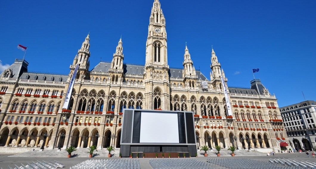 Rathaus music film festival in Vienna