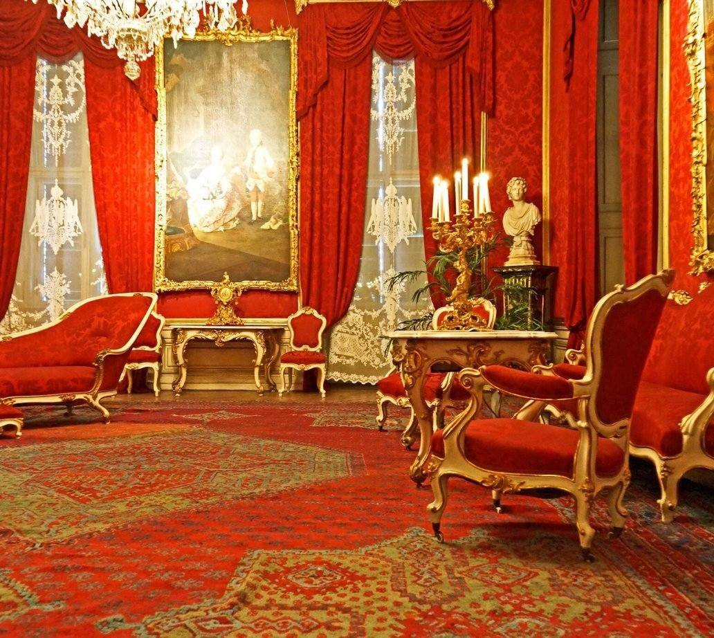 Walnut room in Schönbrunn