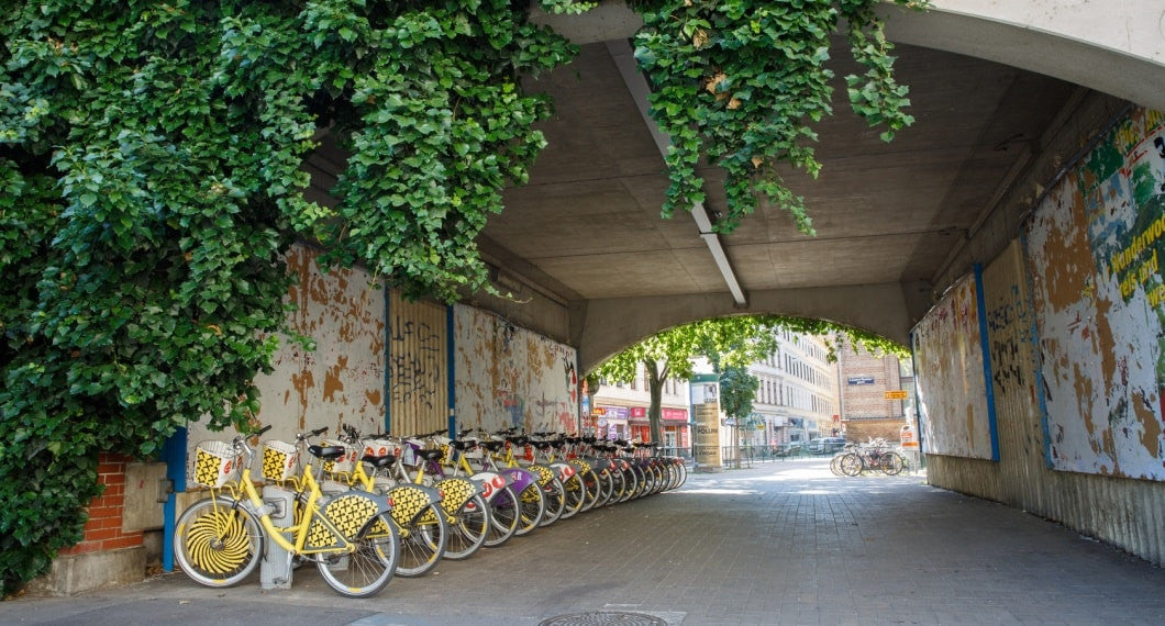 Vienna City Bike station