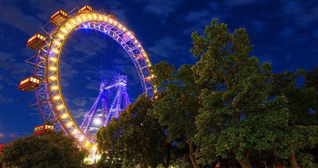 Giant Ferris Wheel in Prater, Vienna