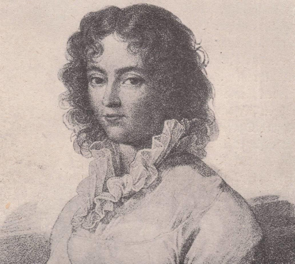 Constanze Mozart by Lange