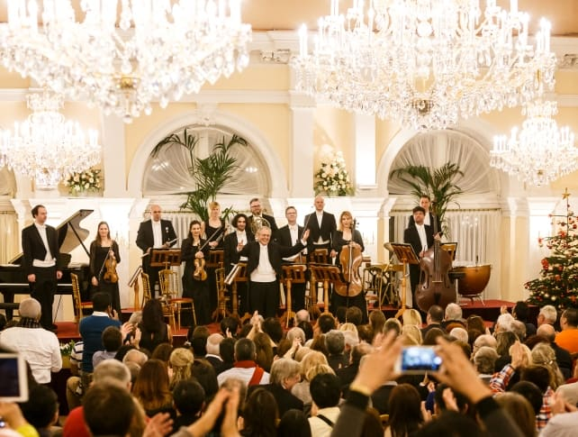 Christmas concert and dinner in Kursalon Vienna, Orchestra