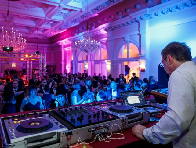 Dj and party at Johann Strauss Ball