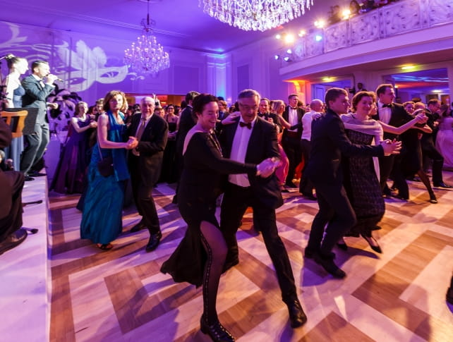 Guests dancing at Johann Strauss Ball