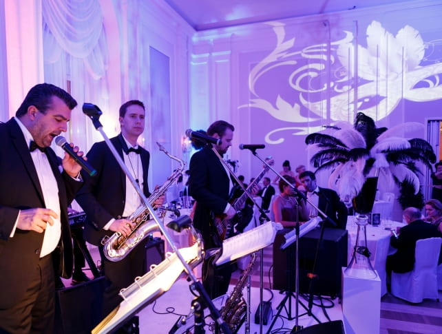 Live band at Johann Strauss Ball