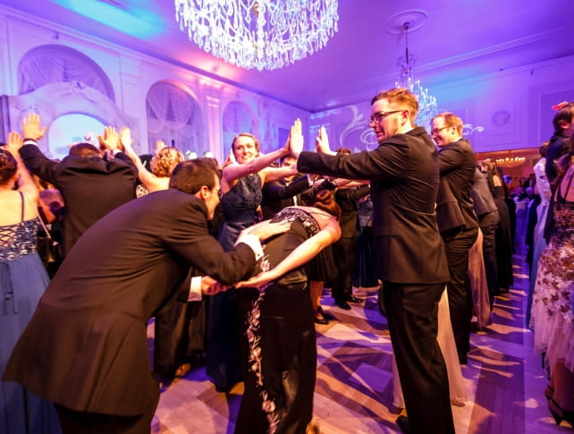 Midnight quadrille at Johann Strauss Ball