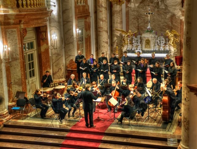 Mozart Requiem in St. Charles Church, Orchestra, Classical Concert