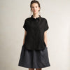 Black shirt for woman by LHI