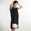 Stylish black tank by LHI