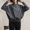 Casual wool sweater handmade by Lovely Home Idea