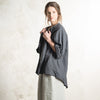 Charcoal linen jacket by LHI