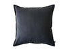 Charcoal linen decorative pillow cover by Lovely Home Idea