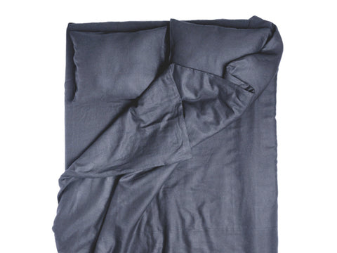Lovely Home Idea Charcoal linen duvet cover