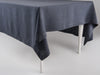 Charcoal linen tablecloth by Lovely Home Idea