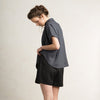 Linen summer clothes in Charcoal by LHI