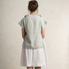 Dove grey linen clothes