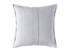 Dove grey linen decorative pillow cover