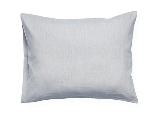 Dove grey linen pillowcase by Lovely Home Idea