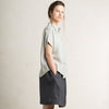 Dove grey linen shirt for your summer outfit by LHI