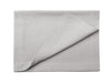 Dove grey linen table runner