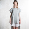Light grey linen women's clothing by LHI