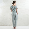Dove grey linen clothing by LHI